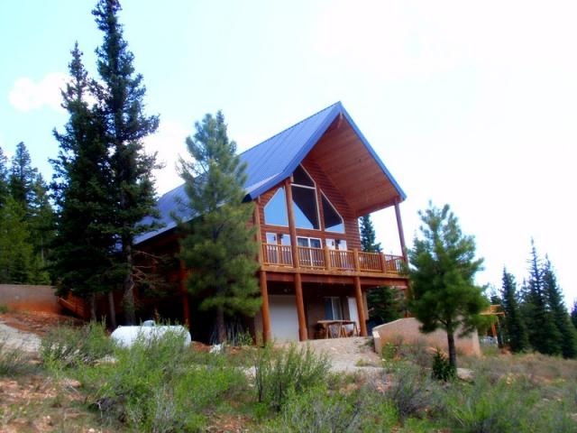 duck creek real estate cabin in the woods in southern utah