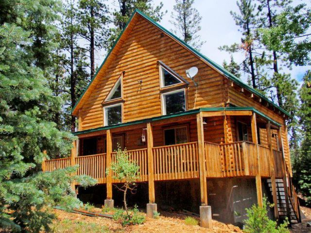 Duck Creek Real Estate Log Cabin In The Heart Of Color