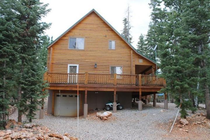 Duck Creek Real Estate Log Cabin For Sale In Color Country